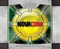 Cover image for Adventures in Odyssey. Novacom saga [sound recording (book on CD)]