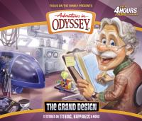 Cover image for The grand design [sound recording (book on CD)] : [12 stories on tithing, happiness & more!].