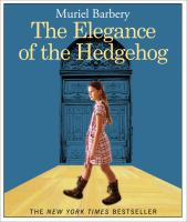 Cover image for The elegance of the hedgehog [sound recording]