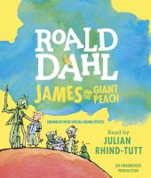 Cover image for James and the giant peach [sound recording (book on CD)]