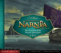Cover image for The voyage of the Dawn Treader [sound recording (book on CD)]