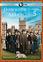 Cover image for Downton Abbey. Season 5 [videorecording (DVD)]