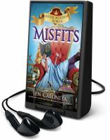 Cover image for Misfits [electronic resource (Playaway)]