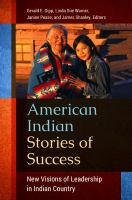 American Indian stories of success : new visions of leadership in Indian Country
