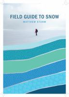 Field guide to snow