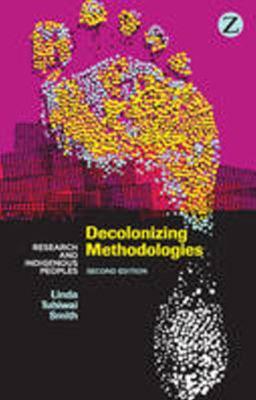Book cover: Decolonising Methodologies -- Research and Indigenous Peoples