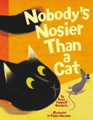 Cover image for Nobody's nosier than a cat