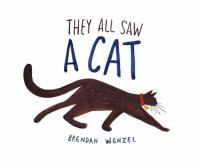 Cover image for They all saw a cat