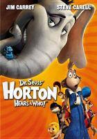 Cover image for Dr. Seuss' Horton hears a Who! [videorecording (DVD)]
