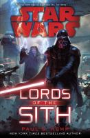 Lords of the Sith - Cover