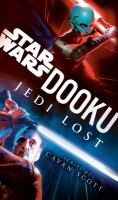 Dooku, Jedi Lost - Cover