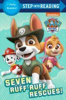 Cover image for Seven ruff-ruff rescues!