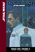 Cover art for Rogue one. Volume 3
