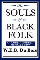 Cover image for The Souls of Black Folk, An African American Heritage Book