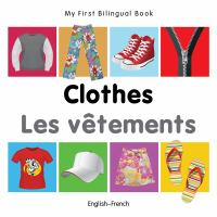 Cover image for Clothes = Les vêtements : English--French