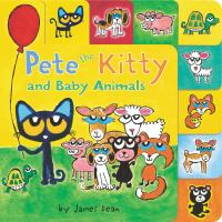 Cover image for Pete the Kitty and baby animals