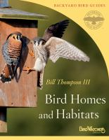 Cover image for Bird homes and habitats