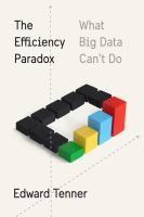 Cover image for The efficiency paradox : what big data can't do