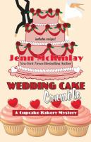 Cover art for Wedding cake crumble [Large Print]