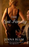 Cover art for The lost family [Large Print]