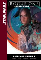 Cover art for Rogue one. Volume 1