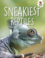 Cover art for World's sneakiest reptiles