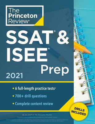 Picture of SSAT & ISEE prep, 2021 book cover