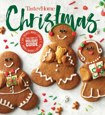 Picture of Taste of Home Christmas book cover