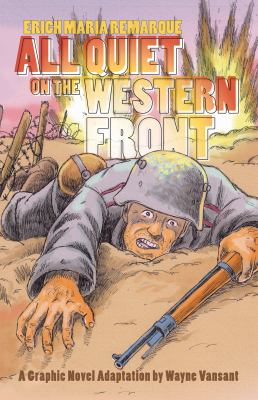 Picture of All quiet on the western front book cover
