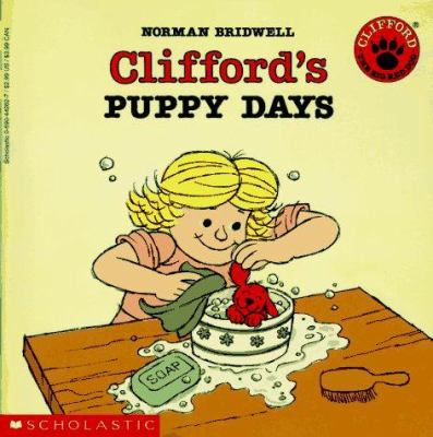 Clifford's puppy days image cover