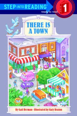 There is a town image cover