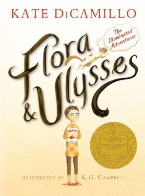 Flora & Ulysses: The Illuminated Adventures image cover