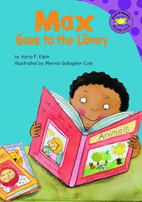 Max goes to the library image cover