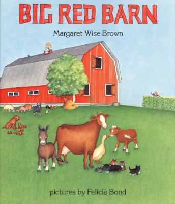 Big red barn image cover