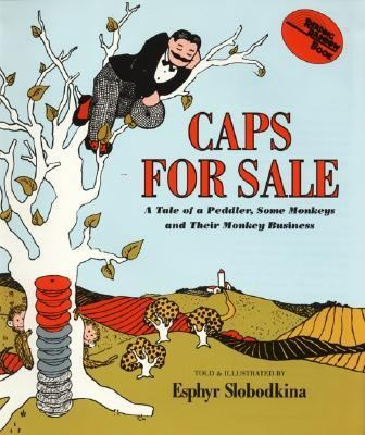 Caps for sale : a tale of a peddler, some monkeys, and their monkey business image cover