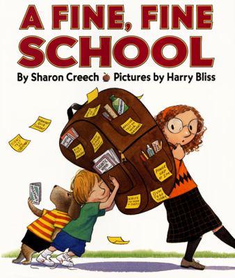 A Fine, Fine School image cover