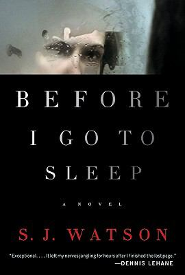 Before I Go to Sleep cover