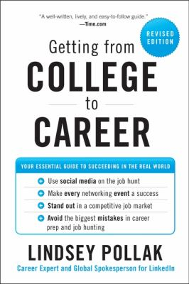 Getting from college to career : your essential guide to succeeding in the real world image cover