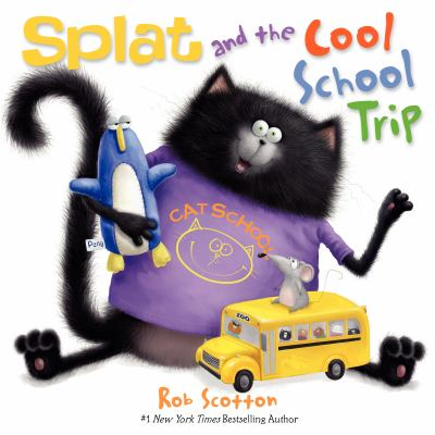 Splat and the Cool School Trip image cover