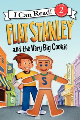 Flat Stanley and the very big cookie image cover