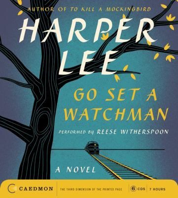 Go Set a Watchman  (read by Reese Witherspoon) image cover