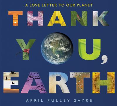 Thank you, Earth: a love letter to our planet image cover
