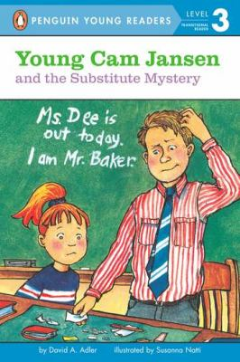 Young Cam Jansen and the substitute mystery image cover
