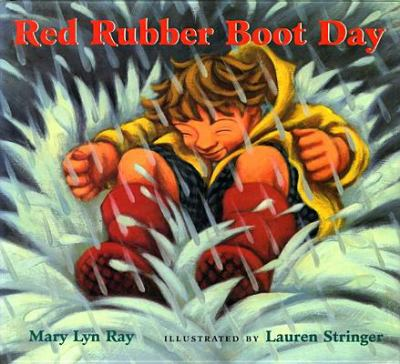 Red rubber boot day image cover