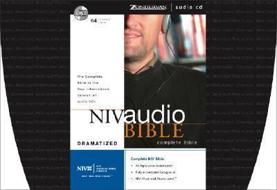 NIV Audio Bible image cover