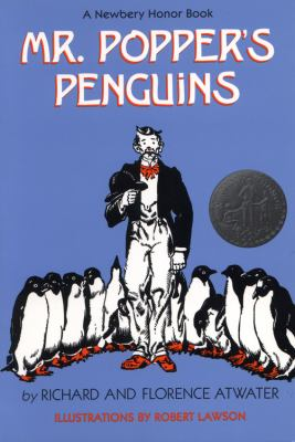 Mr. Popper's penguins image cover
