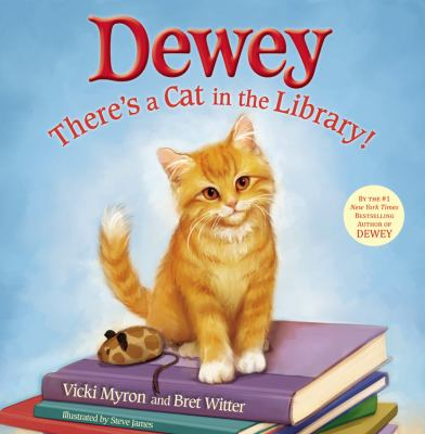Dewey : there's a cat in the library! image cover