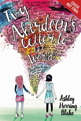Ivy Aberdeen's Letter to the World image cover