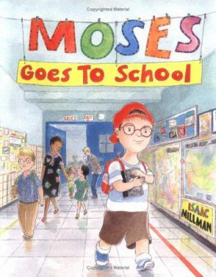 Moses goes to school  image cover