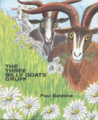 The three billy goats Gruff image cover